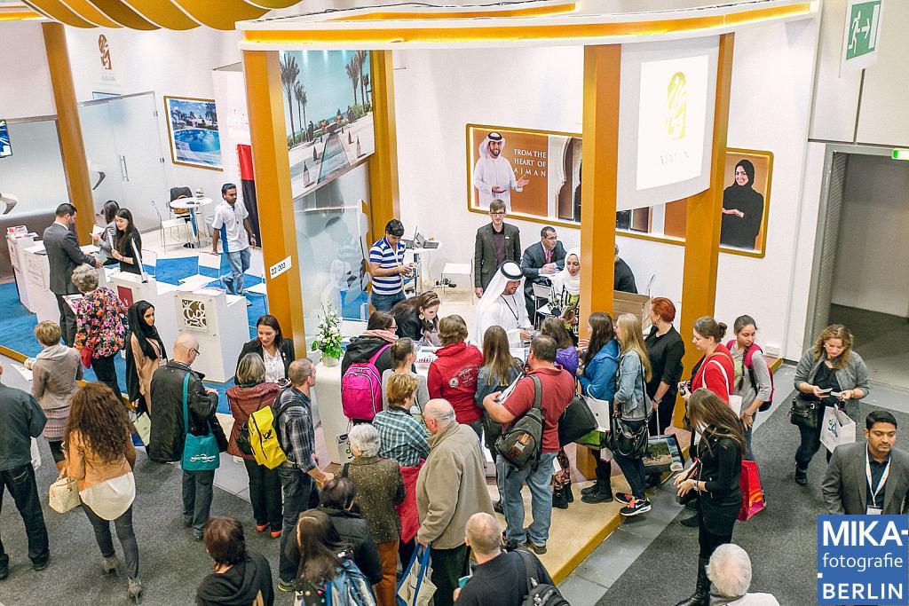Eventfotografie Berlin - AJMAN - ITB 2014 Messefotografie