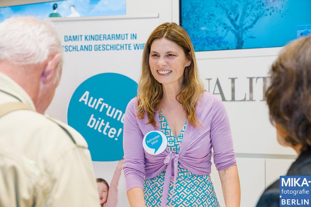 Eventfotografie Berlin - DEUTSCHLAND RUNDET AUF - Sarah Wiener