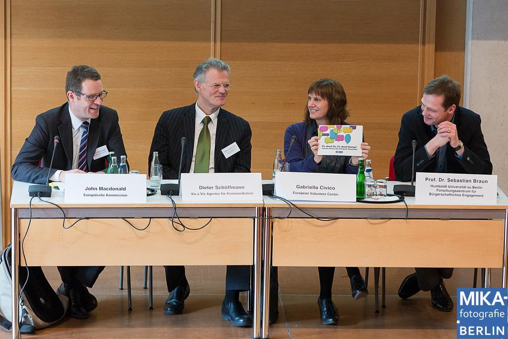 Eventfotografie Berlin - dv - Bürgerschaftliches Engagement in Europa