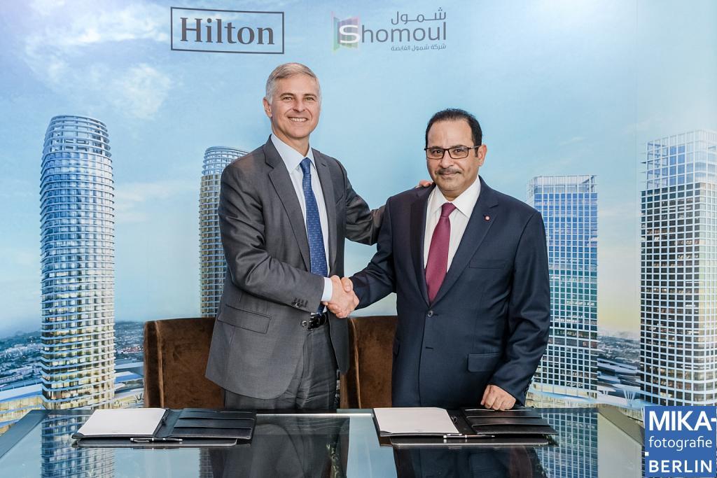 Businessfotografie Berlin - Hilton- Shomoul Company