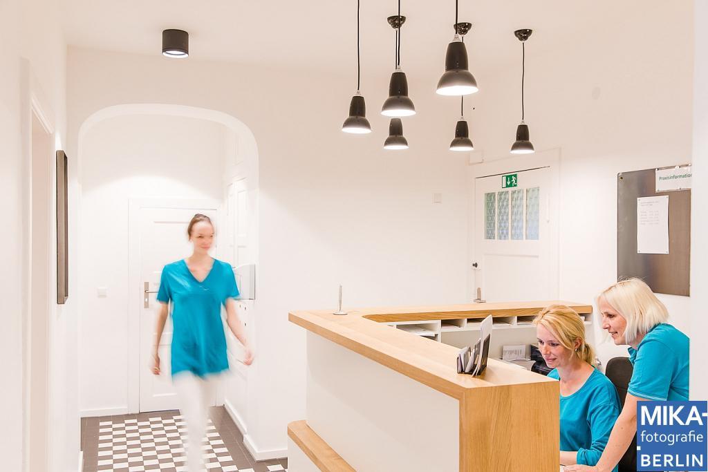 Businessfotografie Berlin - Praxis Dr. Sabine Aign