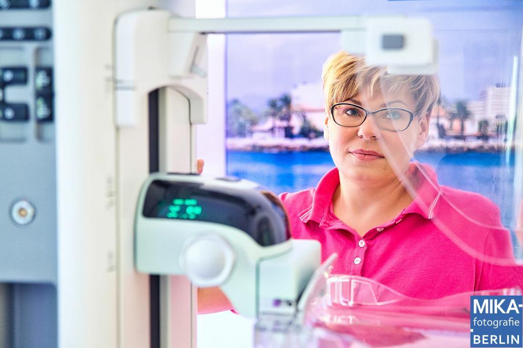 Businessfotografie Berlin - Privatpraxis für Individuelle Brustdiagnostik - Dr. med. Jana Remschmidt