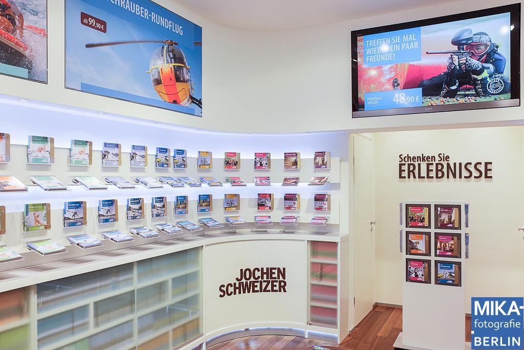 Businessfotografie Berlin - Jochen Schweizer - Stachuspassagen München
