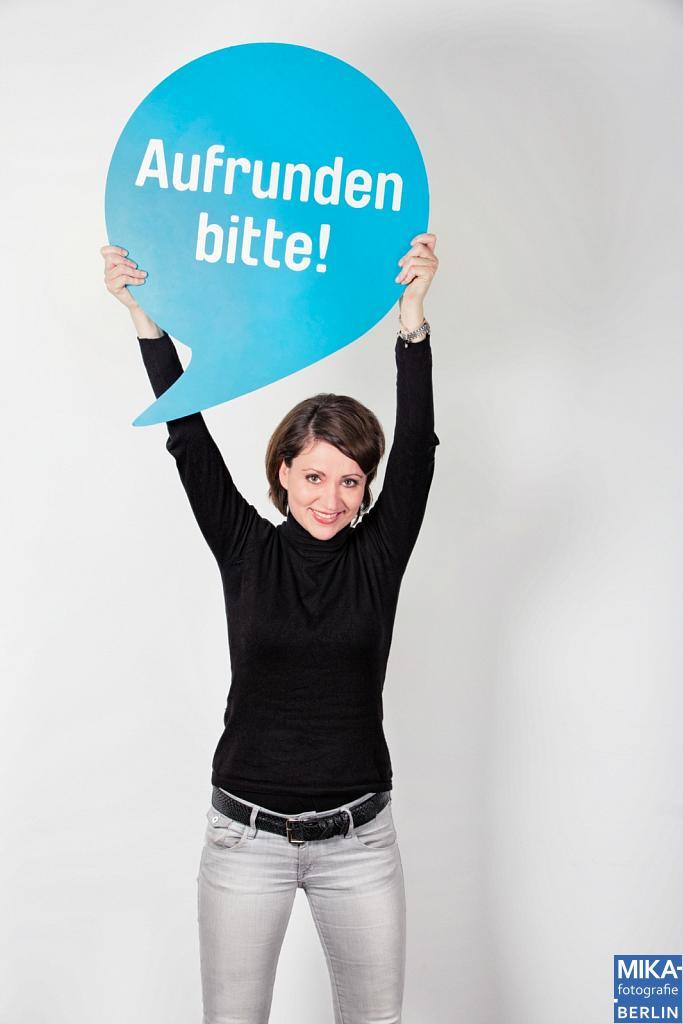Portraitfotografie Berlin - DEUTSCHLAND RUNDET AUF - Team Portrait Fotoshooting