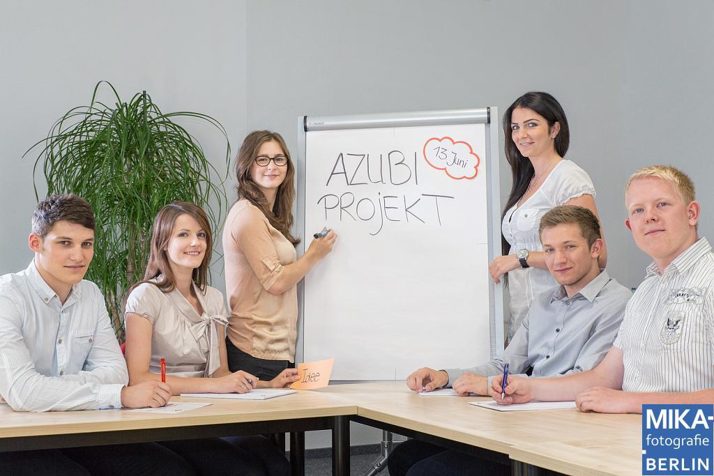Businessfotografie Berlin - BKK VBU - Azubi Fotoshooting für AzubiYo.de