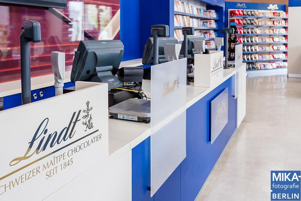 Businessfotografie Berlin - Lindt & Sprüngli AG - Designer Outlet Berlin