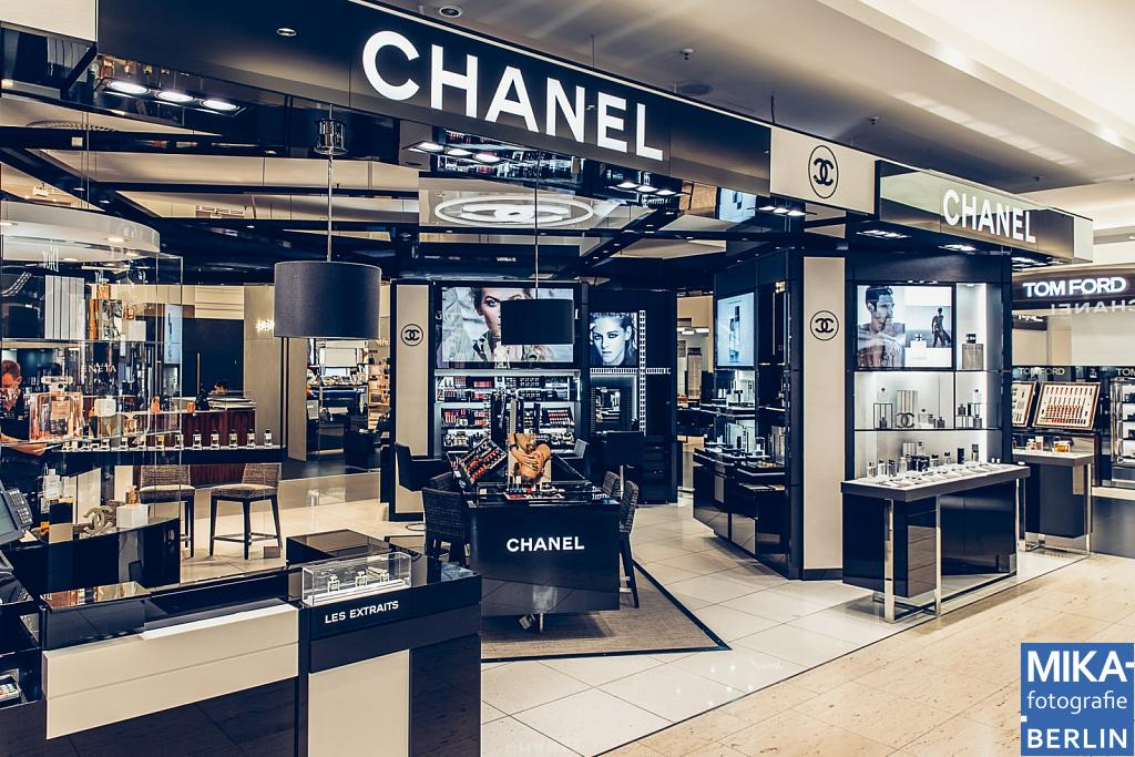 Businessfotografie Berlin - CHANEL im KaDeWe Berlin