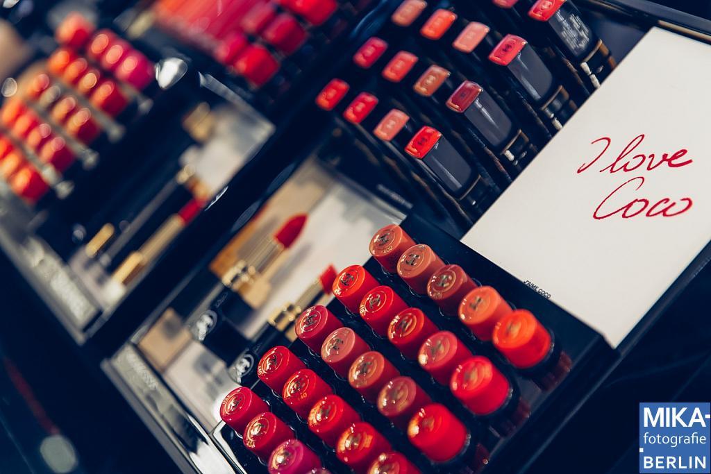 Businessfotografie Berlin - CHANEL im KaDeWe Berlin