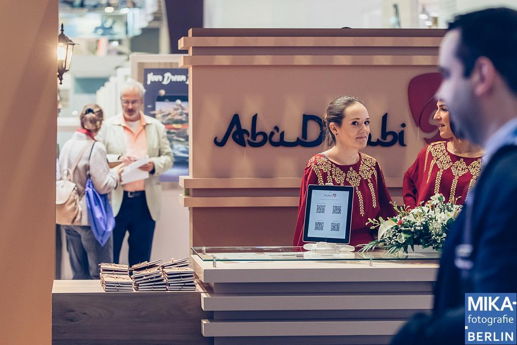 Eventfotografie Berlin - Abu Dhabi Tourism & Culture Authority - ITB Berlin