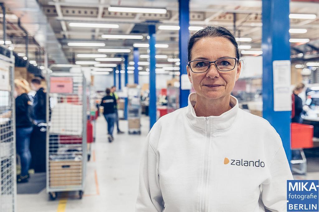 Businessfotografie Berlin - Mitarbeiterportraits - Zalando SE