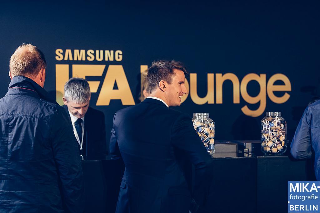 SAMSUNG IFA Lounge 2017