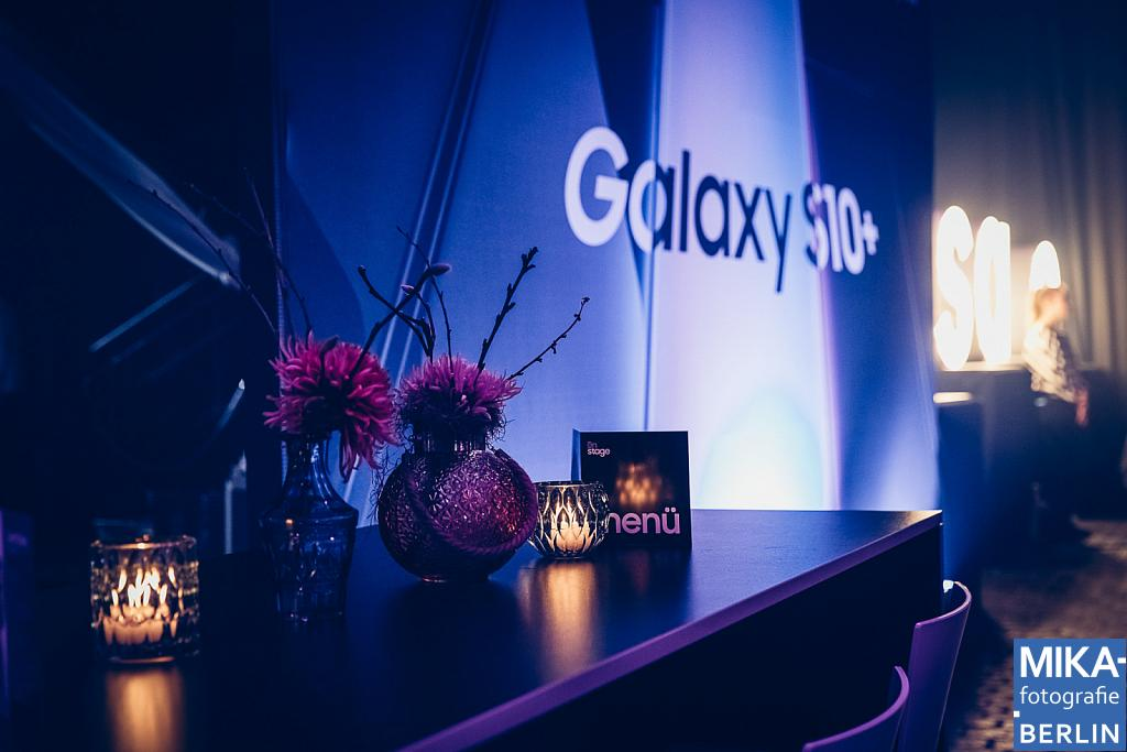 SAMSUNG Galaxy S10 on stage Hamburg 2019