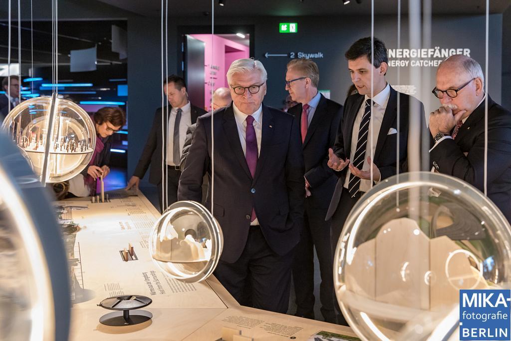 Eventfotografie Berlin - Futurium - Bundespräsident Frank-Walter Steinmeier
