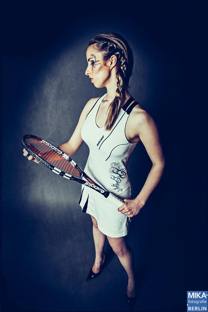 Fotoshooting - Tennis