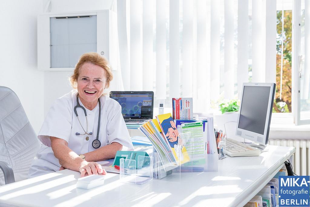 Portraitfotografie - Hausarztpraxis Dr. med. Sabine Aign