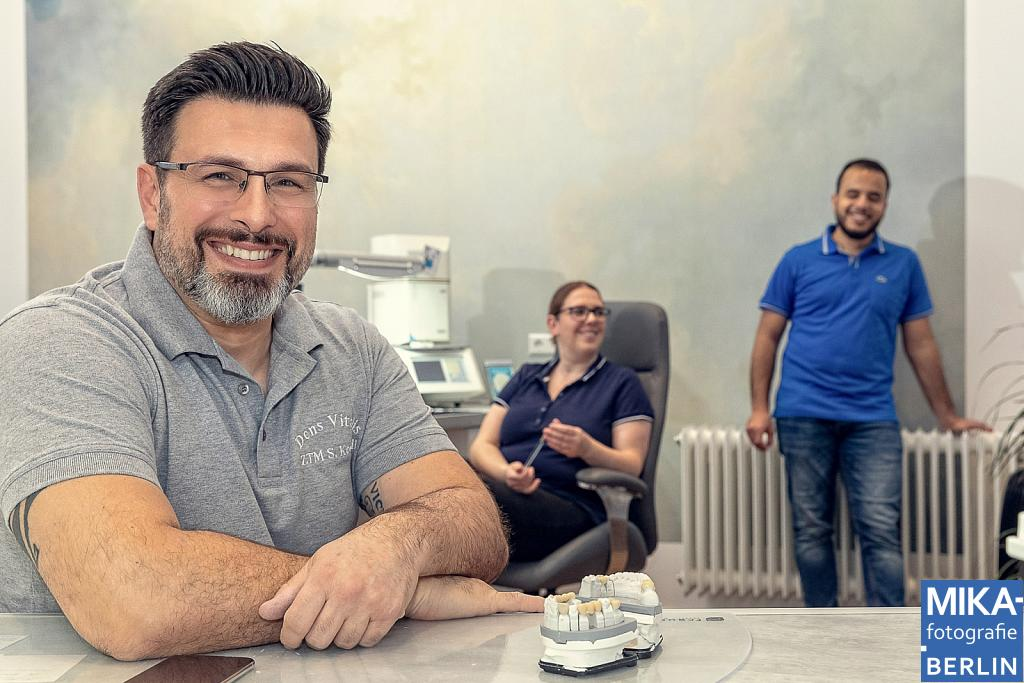 Businessfotografie Berlin - Team DensVitalis