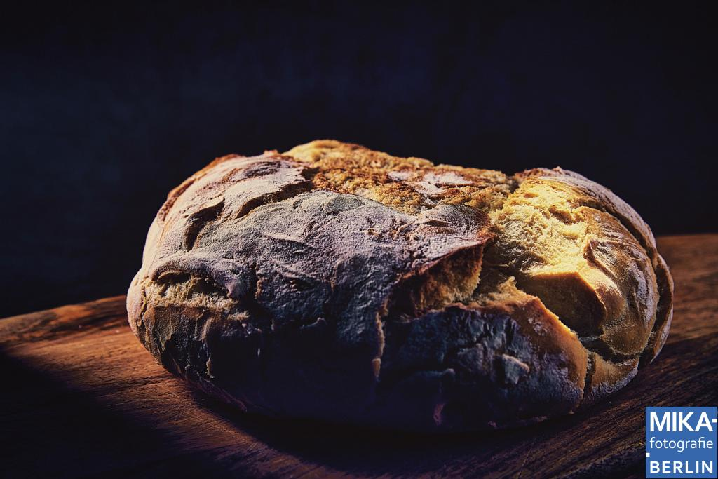 Produktfotografie - Italienisches Brot mit Maismehl - Pane italiano con farina d mais