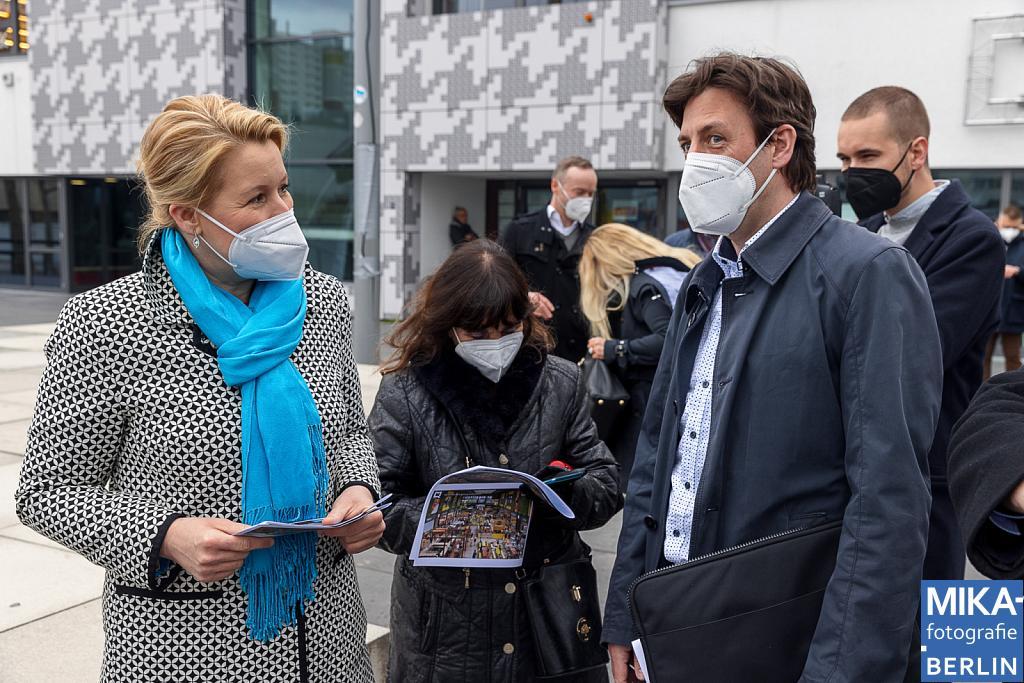 Eventfotografie Berlin - Franziska Giffey, Bundesfamilienministerin