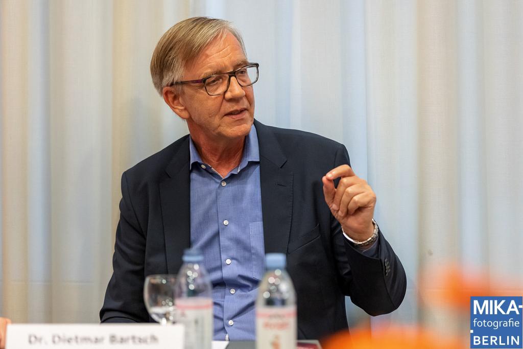 Eventfotografie Berlin - Buchvorstellung - Linken-Fraktionschef Dietmar Bartsch