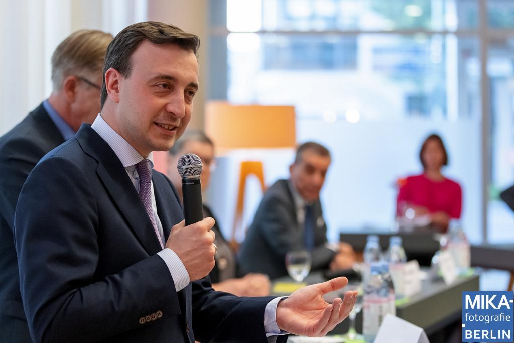 Eventfotografie Berlin - Buchvorstellung - CDU-Generalsekretär Paul Ziemiak